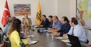 Kolombiyalı Başkanlar yatırımları inceledi
