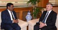 Bangladeş Büyükelçisi'nden Akyürek'e Ziyaret
