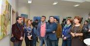 Güzel Sanatlar Fakültesi'nde Dönemin İlk Sergisi Açıldı