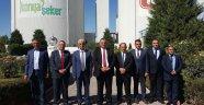 KKTC Tarım Bakanı Konya Şeker'de