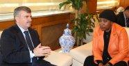 Nijer Ankara Büyükelçisi Akyürek'i  ziyaret etti