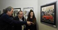 PonART Resim Yarışmaları Sergisi Açıldı