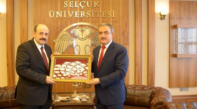 YÖK Başkanı Saraç'tan, Selçuk Üniversitesi'ne Ziyaret